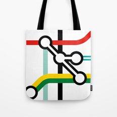Tube Junction No1 Tote Bag