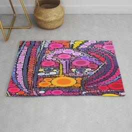 Colorful Kringles Rug