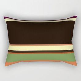 Plain color layer cake pop art print Rectangular Pillow