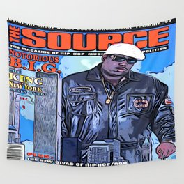The source cover number 70 The Notorious B.I.G. Wall Tapestry
