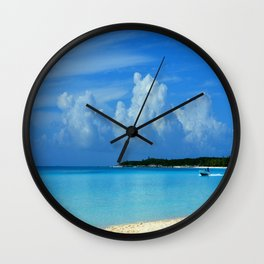 One More Day in The Paradise Wall Clock