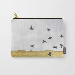 Autumn Crows Carry-All Pouch