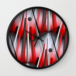 3D - abstraction -74- Wall Clock