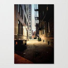 Chicago Alley Canvas Print