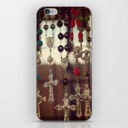 Let Us Pray iPhone Skin