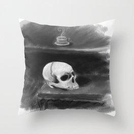 Tea with a friend Throw Pillow