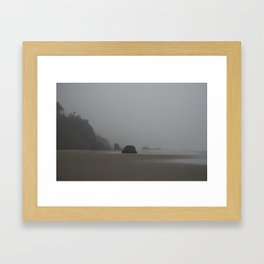 Barren Coast in Cannon Beach Framed Art Print