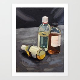 Don't drink chemicals Art Print