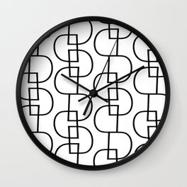 LETTERNS - D - Eras Light Wall Clock