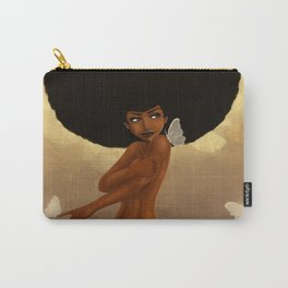 Fro and Butterflies Carry-All Pouch