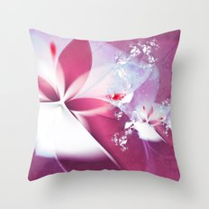 Flying Without Wings Throw Pillow