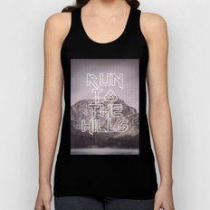 Run To The Hills Unisex Tank Top