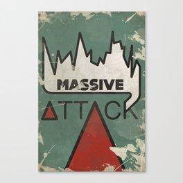 Massive Attack Canvas Print
