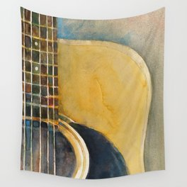 Martin Accoustic Guitar  new proportion Wall Tapestry