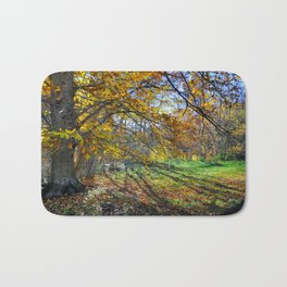 multicolored autumn Bath Mat