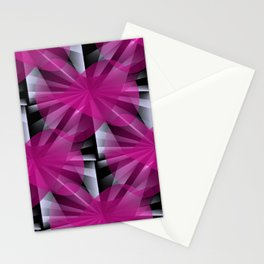 3D abstraction -06a- Stationery Cards