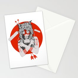 Lady of the Wild Stationery Cards