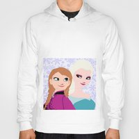 frozen Hoodies featuring Frozen by Sammycrafts