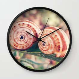 Life is better with friends Wall Clock
