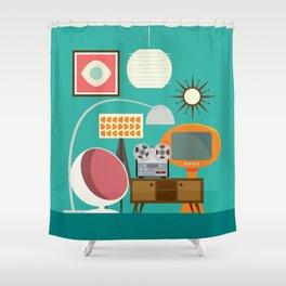 Junkshop Window Shower Curtain