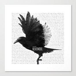 The Raven - E.A. Poe Canvas Print