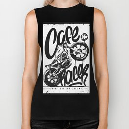 Motorcycle Cafe Race NY Biker Tank