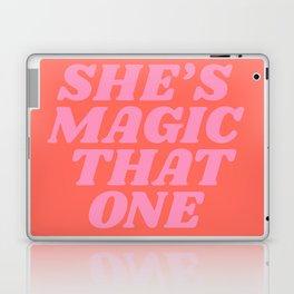 she's magic that one Laptop & iPad Skin