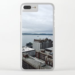 SEA Rainy Views Clear iPhone Case
