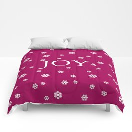 Winter Joy - berry - more colors Comforters