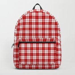 Menzies Tartan Backpack