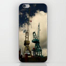 Harbor Crane iPhone Skin