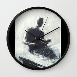 Reflective Wall Clock