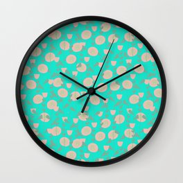 Summer vines Wall Clock