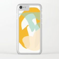 Matisse Shapes 7 Clear iPhone Case