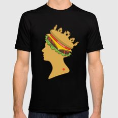 Burger Queen aka Royal With Cheese LARGE Mens Fitted Tee Black