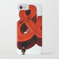 ampersand iPhone & iPod Cases featuring Ampersand by Ann Yoo