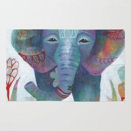 Boho Elephant Rug