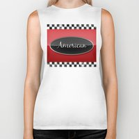 american Biker Tanks featuring American by politics