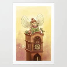 Goblins Drool, Fairies Rule! - Hickory Dock Art Print