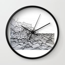Ne Pali Coast Wall Clock