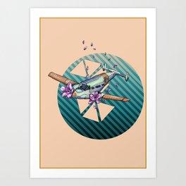 Flower Plane Art Print