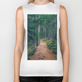 The Forest Path Biker Tank