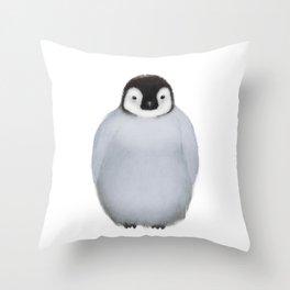 Little Penguin Throw Pillow