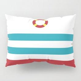 Life Ring,Nautical Pillow Sham