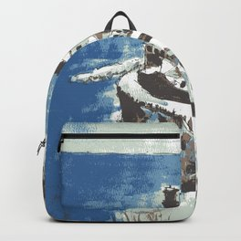 Amalfi Coast Italy Backpack