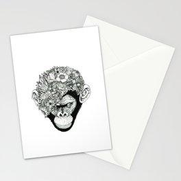 Botanical Ape Stationery Cards