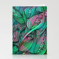 chameleon Stationery Cards featuring Chameleon by Ben Geiger