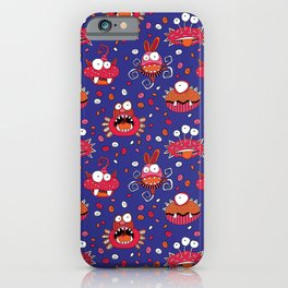 Monster Mash Purple iPhone Case