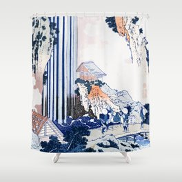 Kiso kaidō ono no bakufu 1833 Shower Curtain