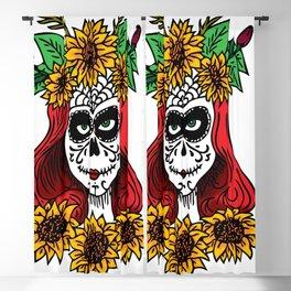 Dia de los Muertos Blackout Curtain